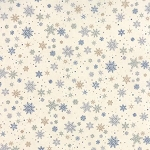 Town Square 6634 11 Snowflakes Frost, Holly Taylor by Moda