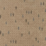 Town Square 6635 13 Small Tree Khaki, Holly Taylor by Moda