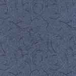 Town Square 6637 15 Swirl Blue, Holly Taylor by Moda