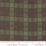 Endangered Sanctuary Flannel 6654 14F Forest Plaid, Holly Taylor by Moda