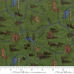River Journey 6682 17 Fern Map, Holly Taylor by Moda