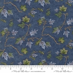 River Journey 6685 11 Blue Leaves, Holly Taylor by Moda