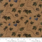 River Journey 6685 19 Buckskin Leaves, Holly Taylor by Moda