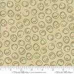 Forever Green 6695 13 Parchment Circle Print, Holly Taylor by Moda