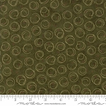 Forever Green 6695 15 Pine Circle Print, Holly Taylor by Moda