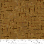 Fall Impressions Flannel 6704 12F Mustard Broken Squares, Holly Taylor by Moda