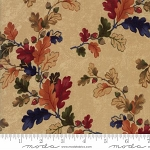 Oak Haven Leaves 9520 11 Tan, Kansas Troubles by Moda