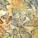 Artisan Batiks Enchanted 2 16131 270 Meadow Butterflies, Kaufman
