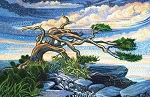 Artisan Spirit Dreamscapes Panel DP21296 3 Tree, Northcott