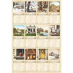 Country Living Calendar Panel DP21497 11, Northcott