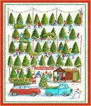 Best Tree on the Lot DP21756 10 Countdown Calendar, Northcott
