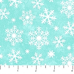 Snow Bears Flannel F21714 63 Snowflake Green, Northcott