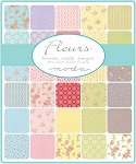 Fleurs Charm Pack, Brenda Riddle by Moda