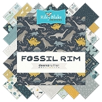 Fossil Rim C6612 Navy Baby Cakes Quilt Kit, Riley Blake