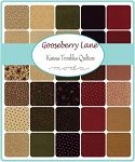Gooseberry Lane Jelly Roll, Kansas Troubles by Moda