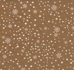 Holiday in the Pines 6513 14 Honey Snowfall, Holly Taylor by Moda