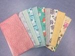 Fat 10 Your Stash Timeless Treasures Baby Flannel Fat Quarter Bundle