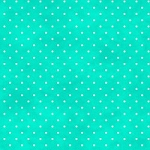 Beautiful Basics 609 Q2 Aqua Mini Dots, Maywood Studio