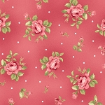 Welcome Home Flannel F8362 P Pink Mini Floral, Maywood Studio