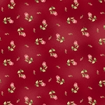 Welcome Home Flannel F8363 R Red Rosebud, Maywood Studio