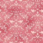 Welcome Home Flannel F8365 P Pink Scroll, Maywood Studio