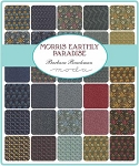 Morris Earthly Paradise Jelly Roll, Barbara Brackman by Moda