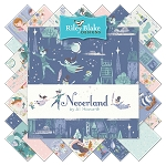 Neverland C6570 Blue Baby Cakes Quilt Kit, Riley Blake