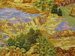 National Parks Grand Canyon Flannel Scene Light 2313-34