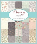 Poetry Charm Pack, 3 Sisters by Moda