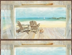Coastal Bliss 89172 245 Panel, Wilmington Prints
