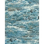 Bear Meadow 94758 449 Water Texture Blue, Wilmington Prints