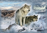 Call of the Wild Q4439 183 Glacier Wolf Pair, Hoffman