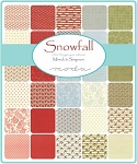 Snowfall Jelly Roll, Minnick and Simpson by Moda