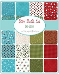 Snow Much Fun Jelly Roll, Deb Strain by Moda