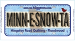 Row by Row 2016 Minnesnowta Plate