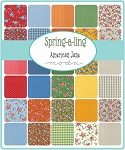 Spring a Ling Jelly Roll, American Jane by Moda