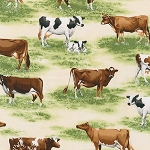 Down on the Farm 15423 14 Natural Cows, Kaufman
