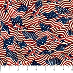 Stonehenge Old Glory 39340 24 Packed Flags, Northcott