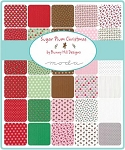 Sugar Plum Christmas Charm Pack, Bunny Hill by Moda