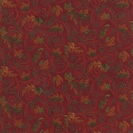 Turning Leaves 6574 13 Mini Leaves Burgundy, Holly Taylor by Moda