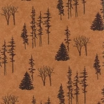 Timber Trail Flannel 6563 16F Gold Timberline, Holly Taylor by Moda