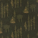 Timber Trail Flannel 6563 17F Dark Green Timberline, Holly Taylor by Moda