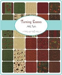 Turning Leaves Charm Pack, Holly Taylor by Moda