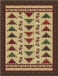 Turning Leaves Quilt Kit, Holly Taylor by Moda