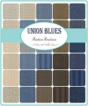 Union Blues Charm Pack, Barbara Brackman by Moda