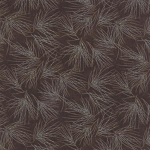 Winter Forest Flannel 6603 19F Brown Pine Needles, Holly Taylor by Moda