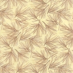 Winter Forest Flannel 6603 21F Cream Pine Needles, Holly Taylor by Moda