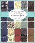 Winter Forest Flannel Charm Pack, Holly Taylor by Moda
