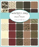 Winters Song Charm Pack, Holly Taylor by Moda