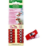Wonder Clips 3155 Red Mini, Clover 10 count